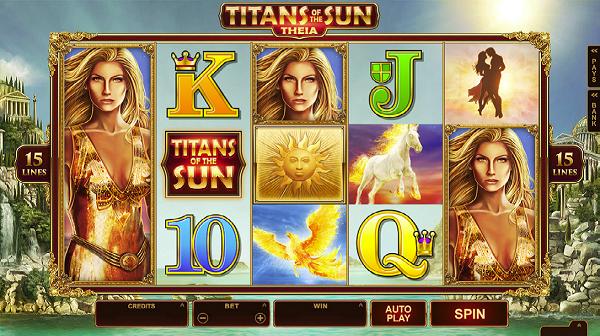 Titans Theia Online Slot